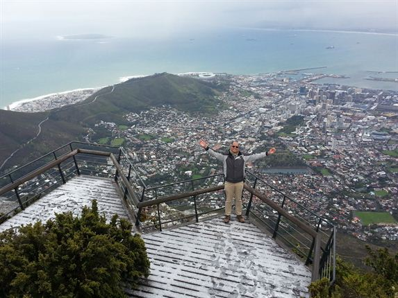 Winter on Table Mountain